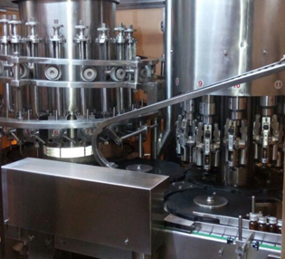 Mono Block Liquid Filling Sealing Machine